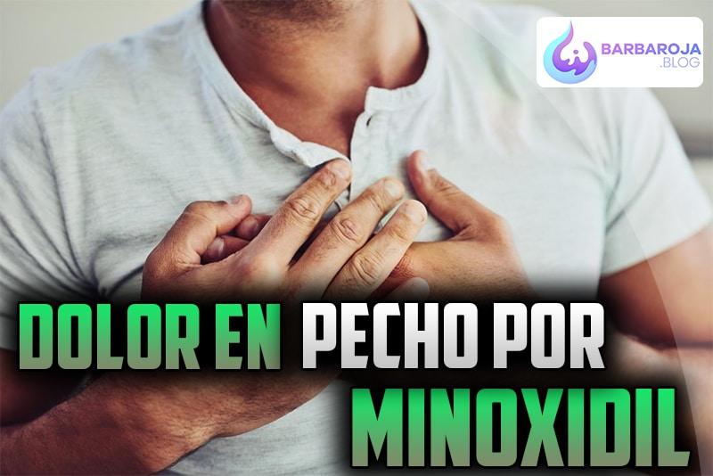 Dolor en el pecho por Minoxidil