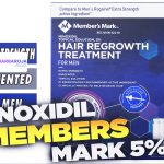 comprar Minoxidil Members Mark 5%