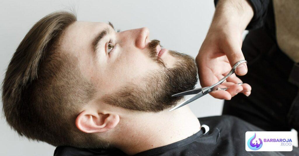 Bigote y barba con Minoxidil