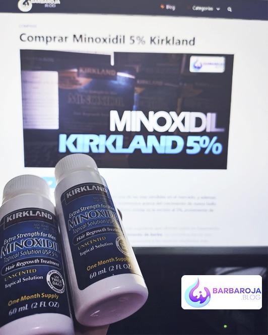 comprar minoxidil kirkland